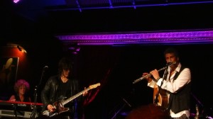 Performing at the Cutting Room, NYC.