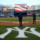 Mark Rivera performing national anthem before the NY Yankees game.