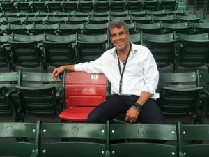 Mark Rivera at Fenway Park
