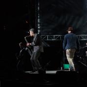 Billy Joel, Mark Rivera and Zac Brown